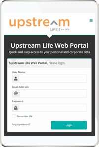 Upstream Life Insurance Company - mobile version